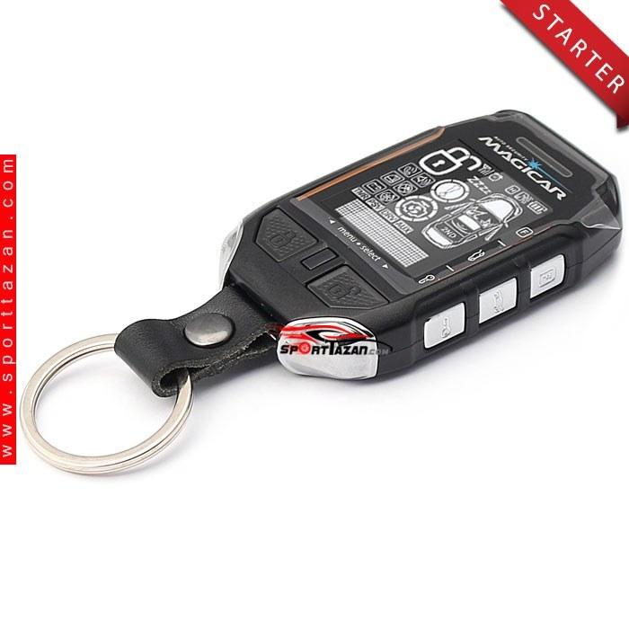 دزدگیر تصویری استارتر ماجیکار مدل i135AS | Magicar Car alarm i135AS