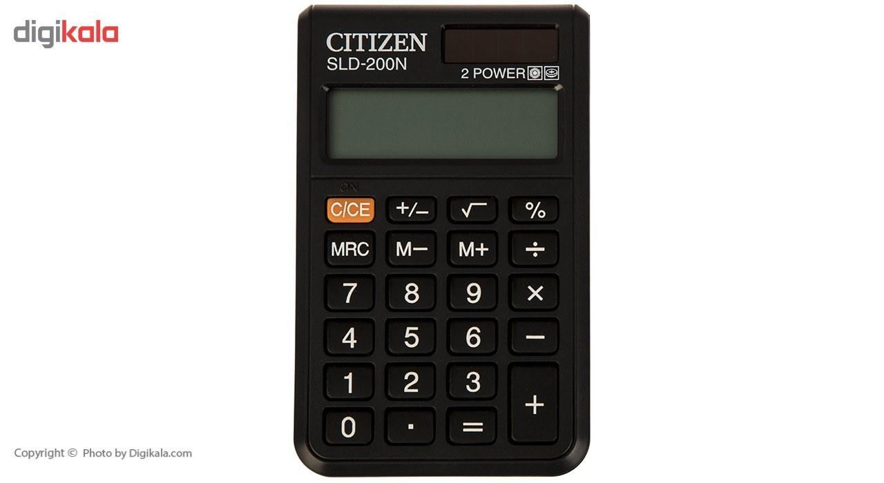 img ماشین حساب سیتیزن مدل SLD-200N Citizen SLD-200N Calculator
