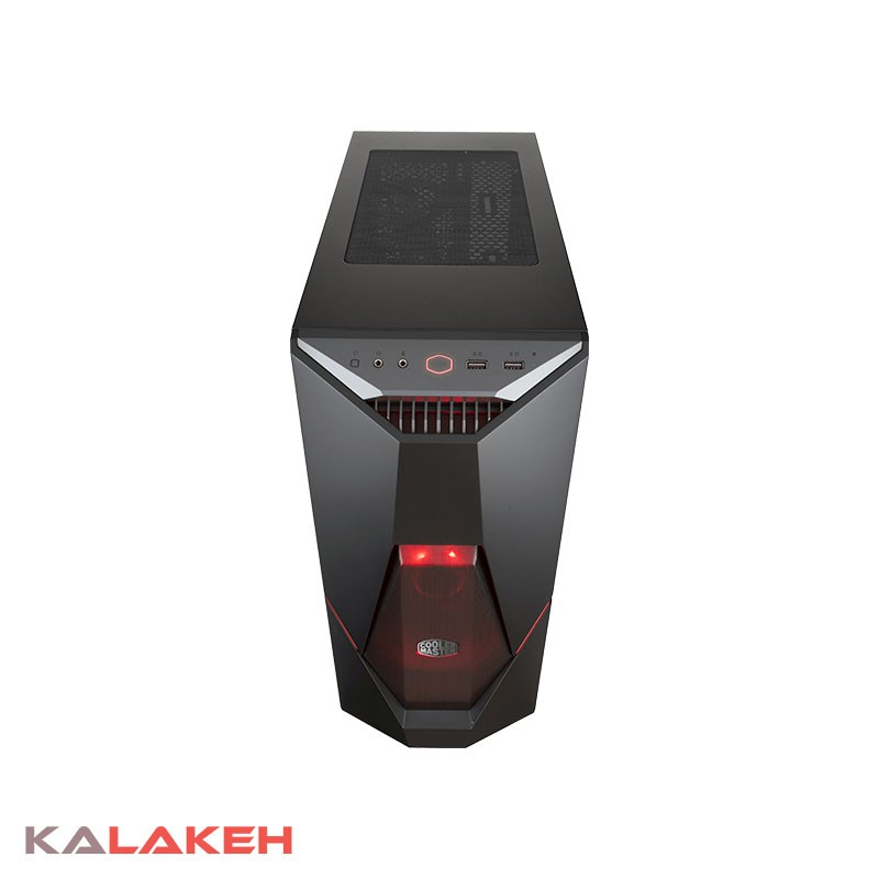 تصویر کیس کامپیوتر کولر مستر مدل MASTERBOX K500L