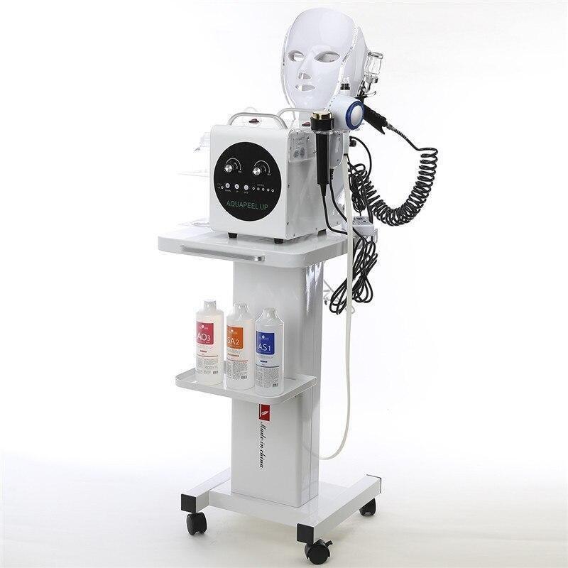 تصویر دستگاه جوانسازی و زیبایی فیشیال صورت 7 کاره آکواپیل اصل کره با 12 ماه گارانتی AQUA PEEL UP