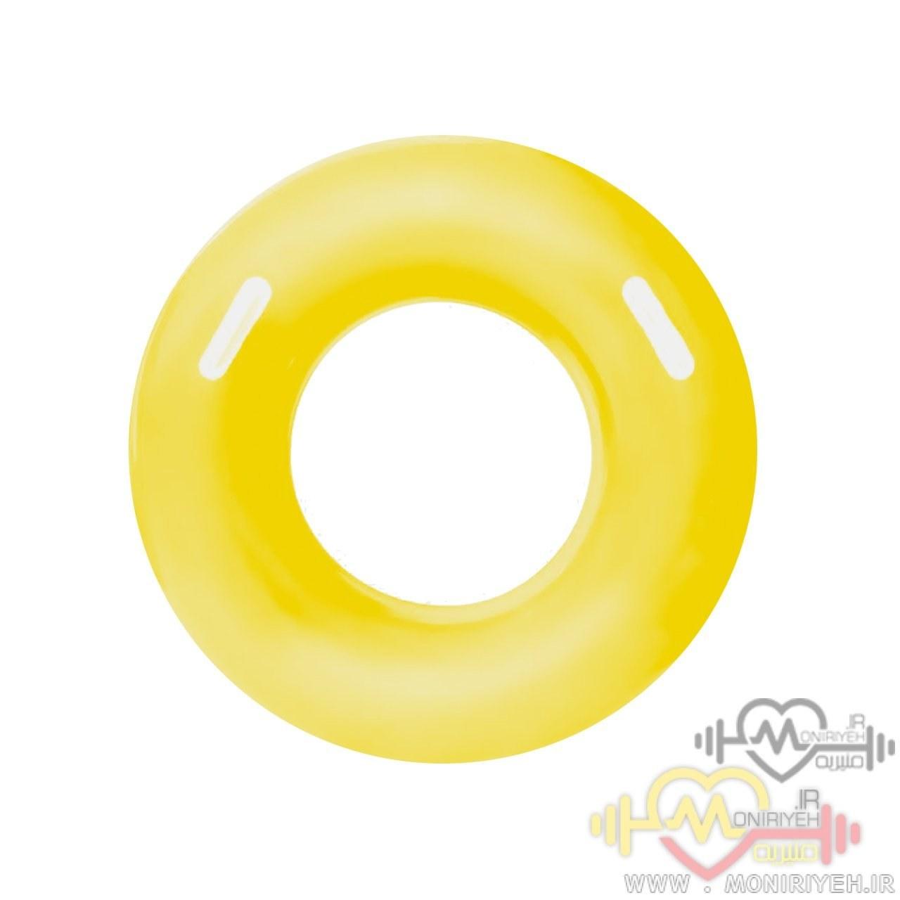 تصویر تیوپ شنای کودک H2o Go مدل دایره زرد