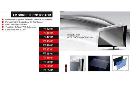 پک محافظ صفحه نمایش سایز 32 تا 55 اینچ (گلس تلویزیون ) |