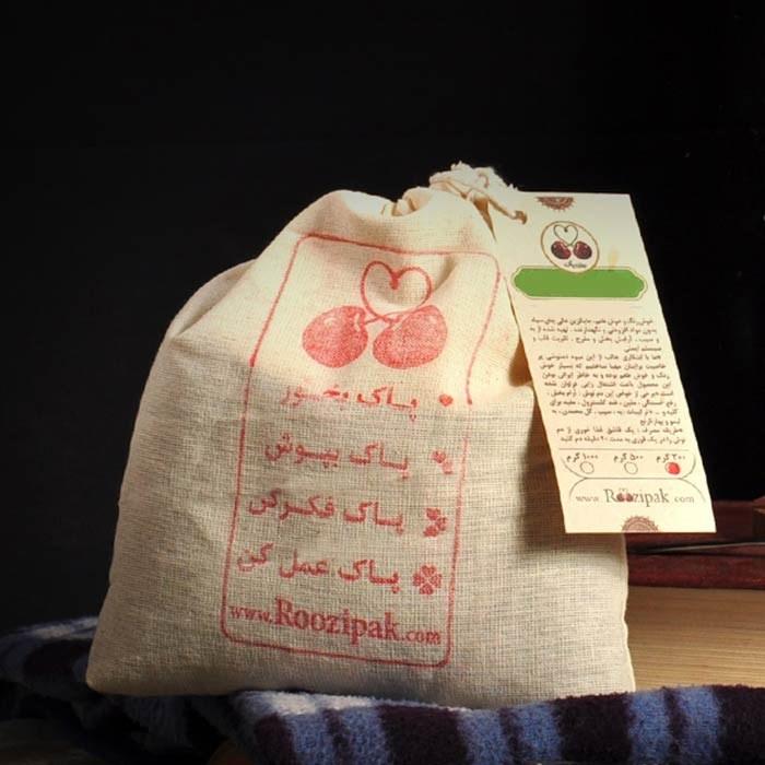 تصویر کیسه پارچه ای کوچک، کیسه پارچه ای بزرگ، ساک خرید پارچه ای  | روزی پاک