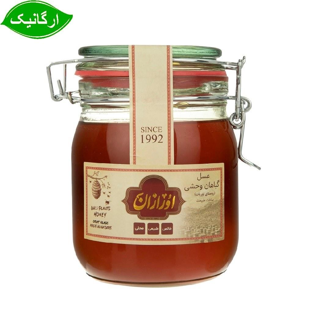 عسل گیاهان وحشی ارگانیک اورازان 1 کیلو گرمی
