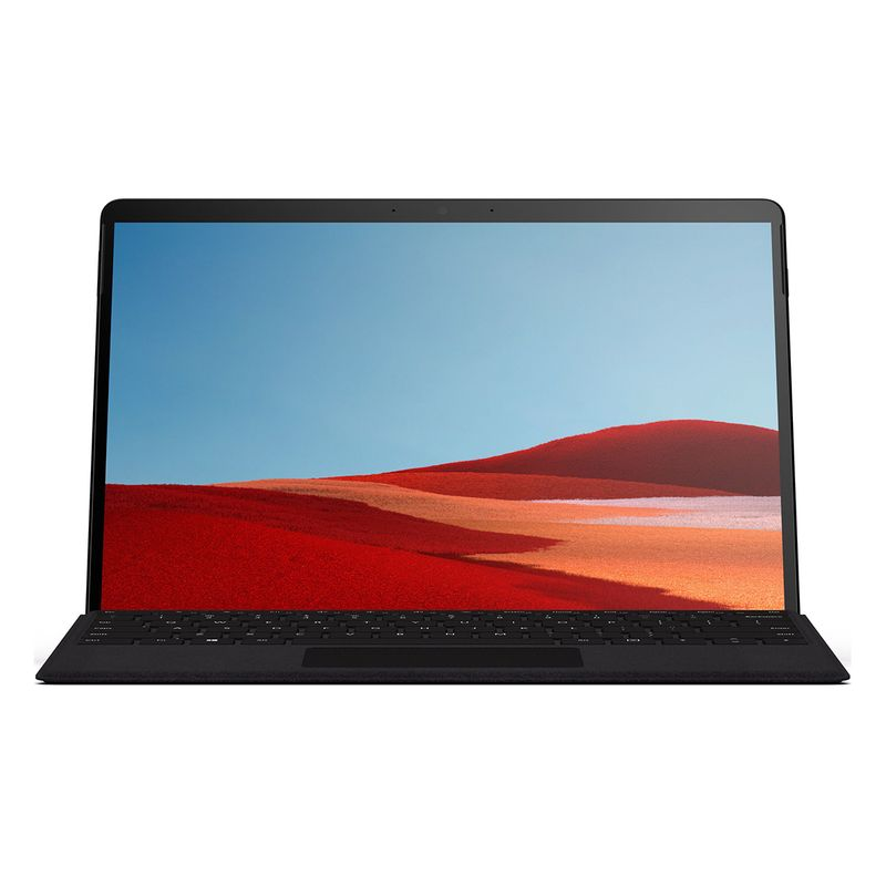 تصویر تبلت مایکروسافت 13 اینچی مدل Surface Pro X LTE MicrosoftSQ1/8GB/256GB به همراه کیبورد black type cover