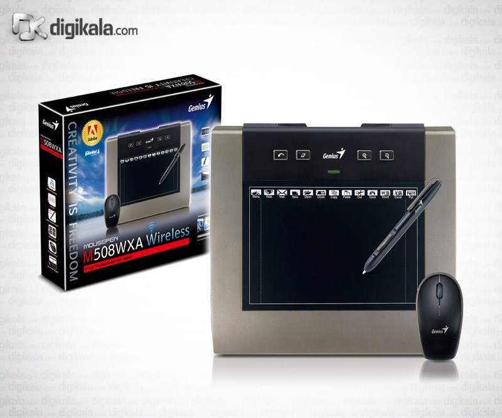 تصویر قلم نوري جنيوس ماوس پن M508WXA Genius MousePen M508WXA