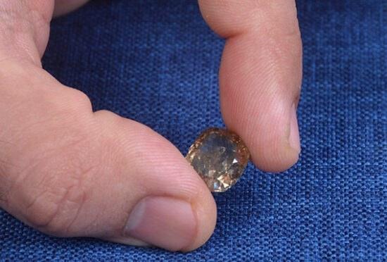 تصویر الماس طبیعی9.42قیراط کد DA18