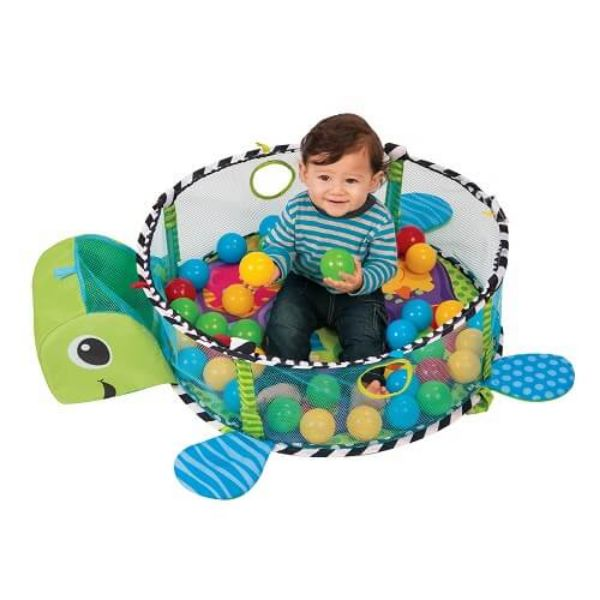 تشک بازی و استخر توپ لاک پشت baaby co.   Play mattress and ball pool turtle baaby co.