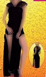 لباس خواب بلند زنانه ترک - مای بن 4163 |