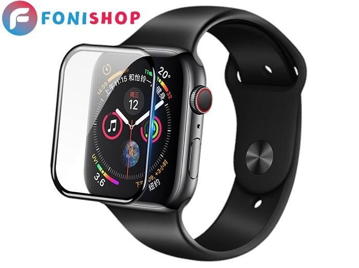 تصویر گلس تمام صفحه شیشه ای اپل واچ Apple Watch 44mm