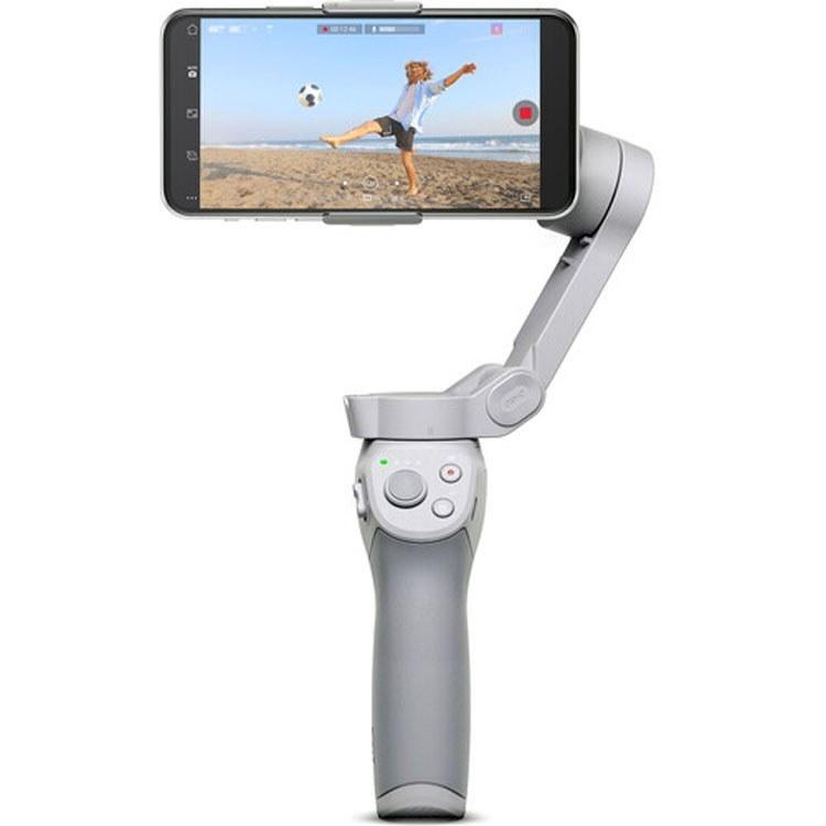تصویر لرزشگیر تصویر و نگهدارنده ی گوشی موبایل دی جی آی مدل OM 4 Dji OM 4 Stabilizer