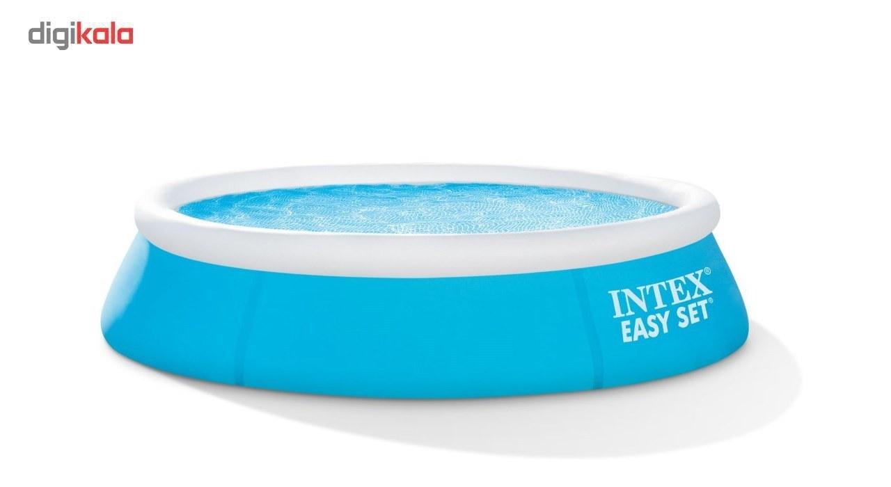 img استخر بادی اینتکس مدل Easy Set 28101 intex easy set pool 28101