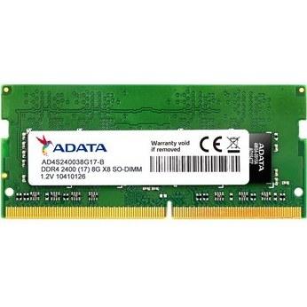 رم ADATA PC4-19200 DDR4 8GB 2400MHz SODIMM | رم لپ تاپ ای دیتا با فرکانس ۲۴۰۰ مگاهرتز و حافظه ۸ گیگابایت