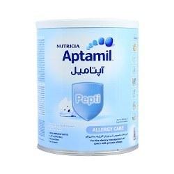 تصویر شیر خشک آپتامیل پپتی 1 مراقبت از آلرژی نوتریشیا مخصوص شیرخواران از بدو تولد تا 6 ماهگی  ۴۰۰ گرمی Nutricia Aptamil Pepti 1 Allergy Care From Birth to 6 Months  400 g