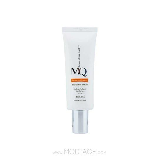 تصویر کرم ضد آفتاب ضدلک ام کیو MQ MQ Sunscreen Cream Bio Taches SPF 50