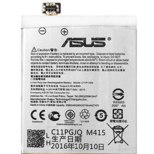 تصویر باتری موبایل ایسوس مدل C11P1324 با ظرفیت 2050mAh مناسب برای گوشی موبایل ایسوس Zenfone 5