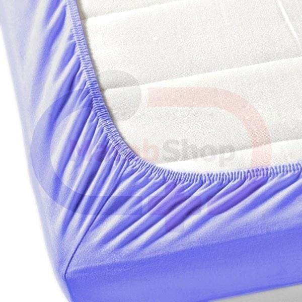 تصویر ملحفه یکبار مصرف کش دار آبی 80×220
