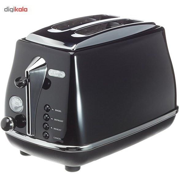 تصویر توستر دلونگی مدل CTO2003 Delonghi CTO2003 Toaster