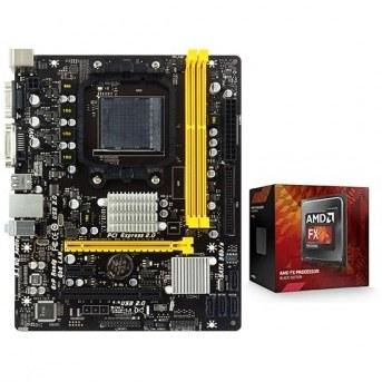 مادربرد بایوستار مدل A960D+V3 به همراه پردازنده مرکزی AMD FX-4320   Biostar A960D+V3 Motherboard With AMD FX-4320 CPU