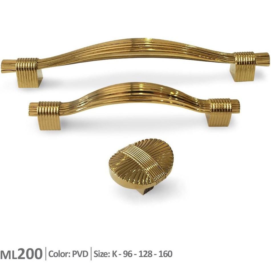 تصویر دستگیره کابینت مدل ML200 ملونی