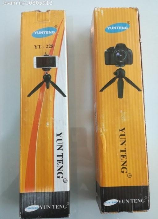 سه پایه نگهدارنده دوربین و مونوپاد Yunteng |