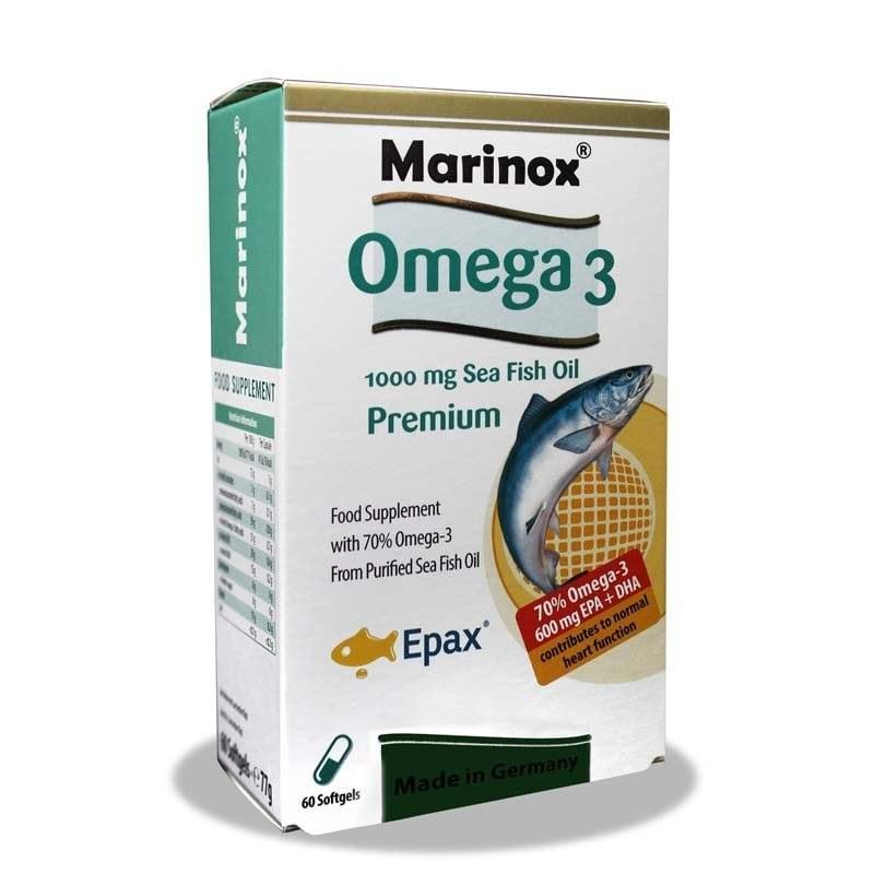 کپسول امگا 3 مارینوکس Marinox Omega 3 Premium