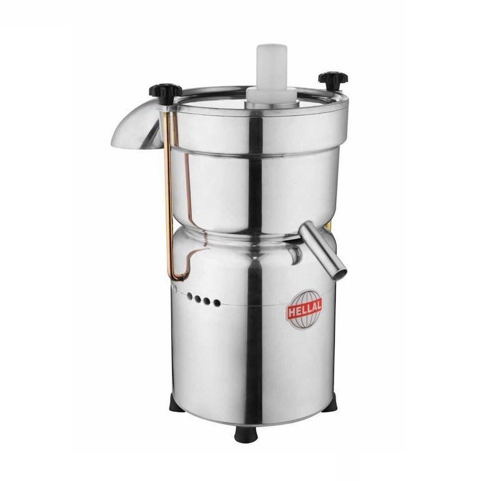 تصویر آب میوه گیری صنعتی دهانه 7 سانتیمتر هلال ا Hellal Industrial Juicer Machine Hellal Industrial Juicer Machine