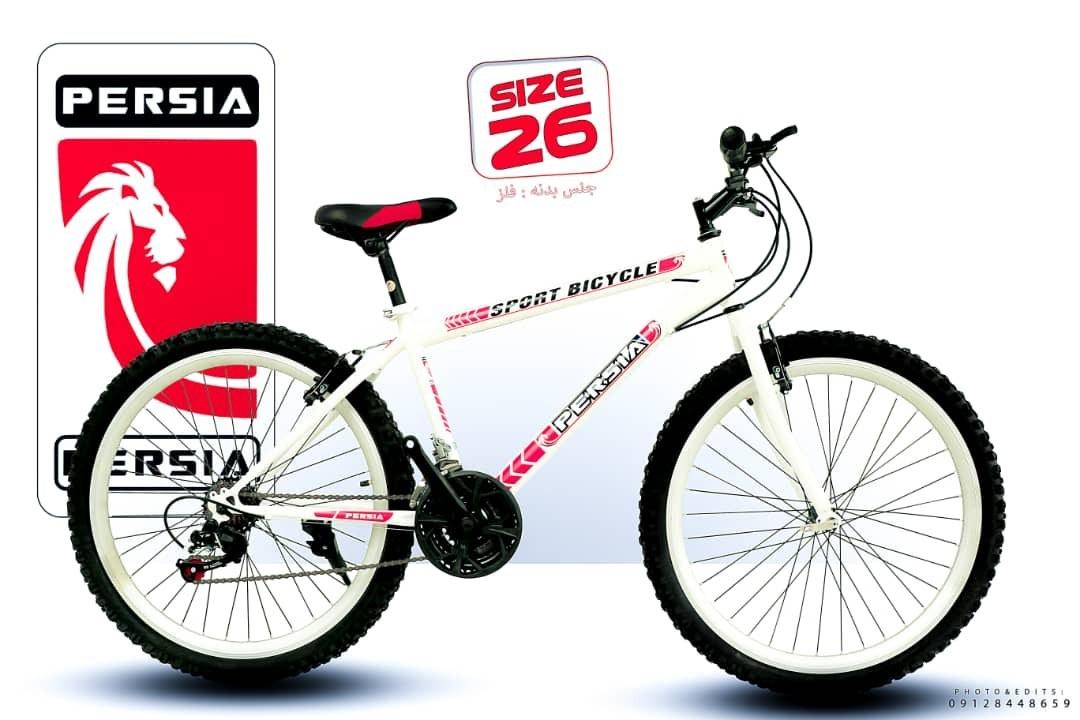 تصویر دوچرخه 26 دنده کلاجدار پرشیا