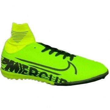 تصویر کفش ساق دار فوتبال مخصوص چمن مصنوعی