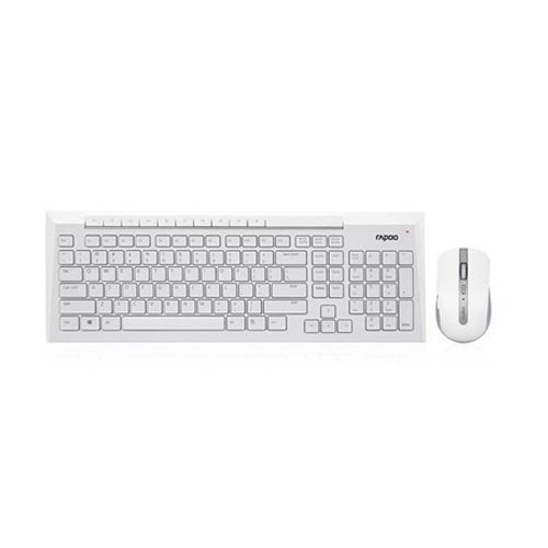 main images Keyboard and Mouse Rapoo 8200 Wireless ماوس و کیبورد بی سیم راپو 8200