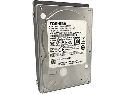 تصویر Toshiba MQ03ABB200 2TB 5400RPM 16MB Cache SATA 6.0Gb / s 2.5in (15 میلی متر) هارد دیسک موبایل - 3 سال ضمانت