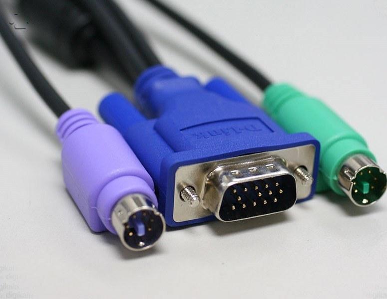 تصویر کابل 1.8 متري KVM دي-لينک مدل DKVM-CB D-Link DKVM-CB KVM 1.8M Cable
