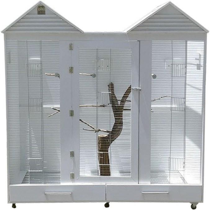 تصویر قفس بزرگ طوطی مدل رویا