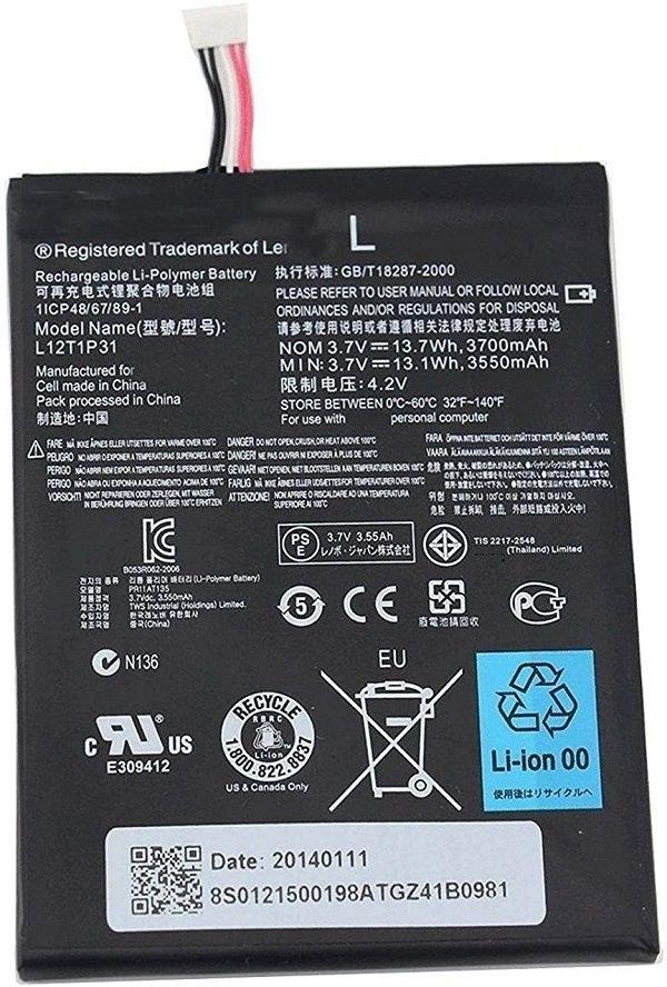 تصویر باتری لنوو Lenovo A2