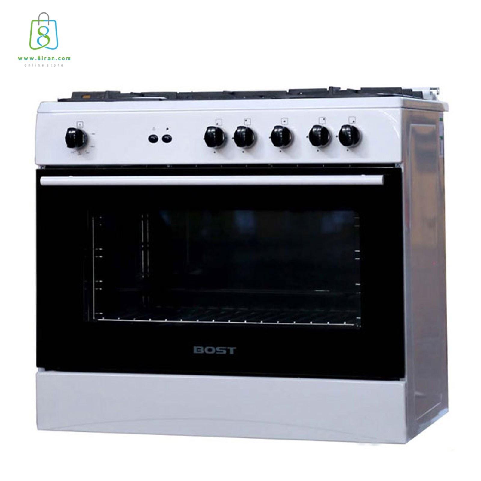 تصویر اجاق گاز بُست مدل BGC5-1012N Bost stove model BGC5-1012N