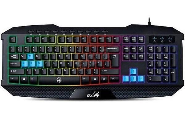 main images کیبورد جنیوس گیمینگ اسکورپین K215 Genius Scorpion K215 Gaming Keyboard