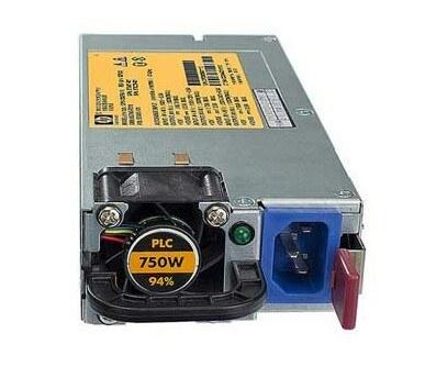 تصویر پاور سرور اچ پی مدل 512327-بی 21 با توان خروجی 750 وات پاور اچ پی 512327-B21 750W Common Slot Gold Hot Plug Server Power Supply