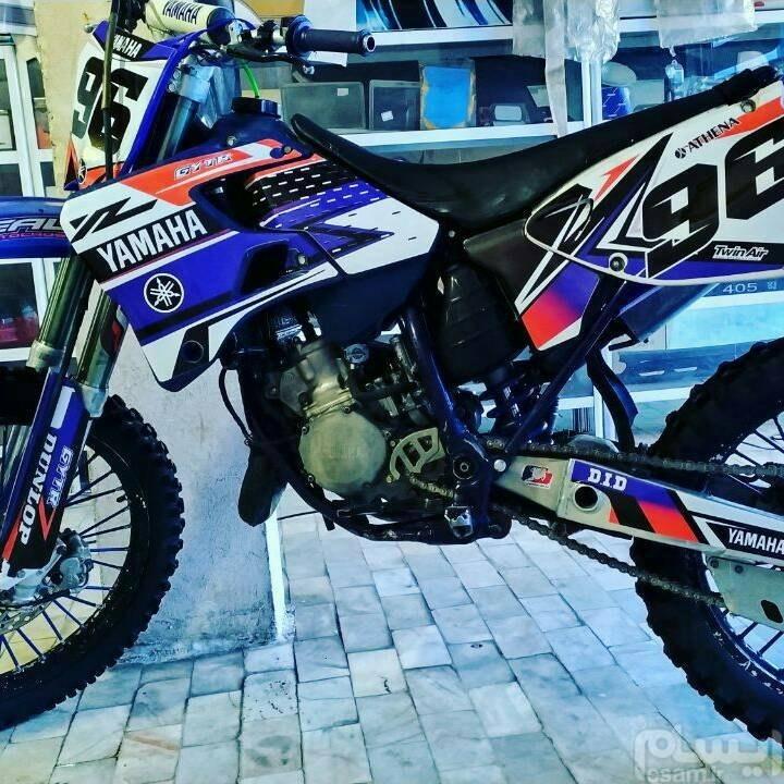 کیت برچسب موتور کراس YAMAHA yz 125 -96 ^2001 | کیت برچسب موتور کراس YAMAHA yz 125 -96 ^2001