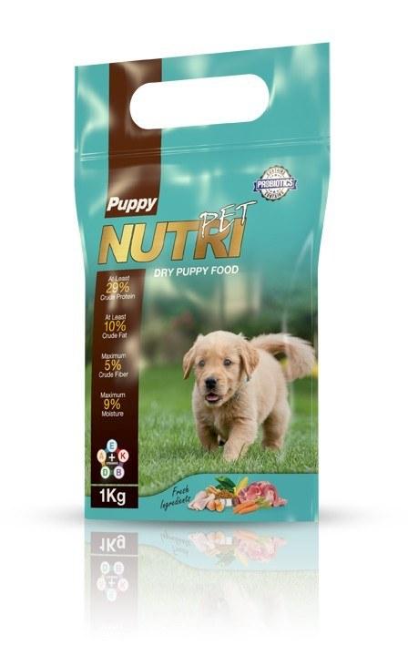 غذای خشک توله سگ، برند نوتری پت، ۱ کیلوگرمی |