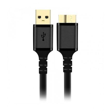تصویر کابل هارد کی نت پلاس USB 3.0 A/M To USB 3.0 Micro B/M