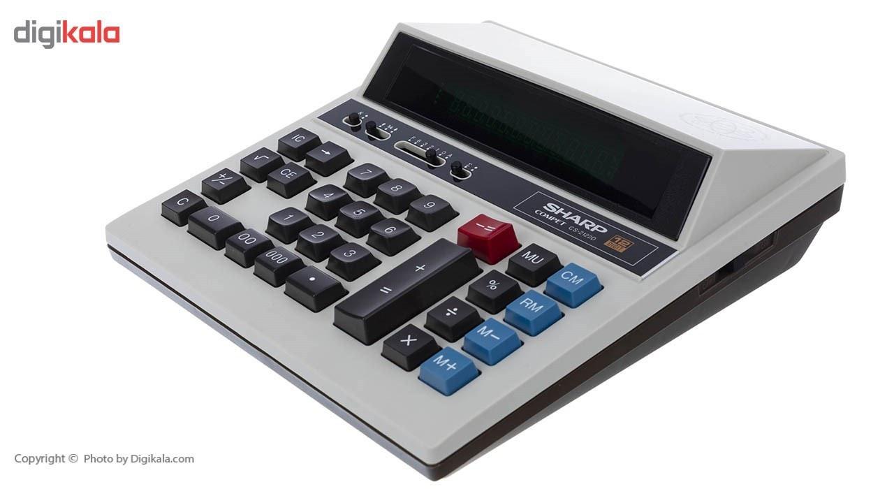 تصویر ماشین حساب CS-2122d  شارپ Sharp CS-2122d Calculator