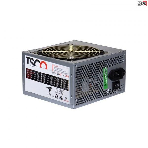 تصویر منبع تغذیه کامپیوتر تسکو مدل TP 570W