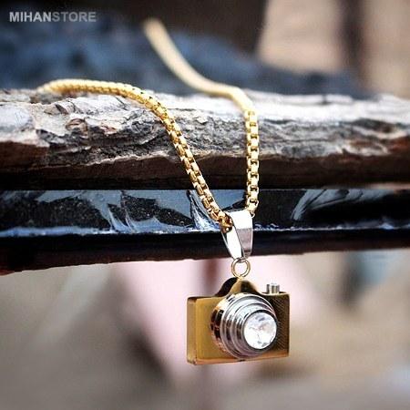 گردنبند لاکچری طرح دوربین   Camera Necklaces