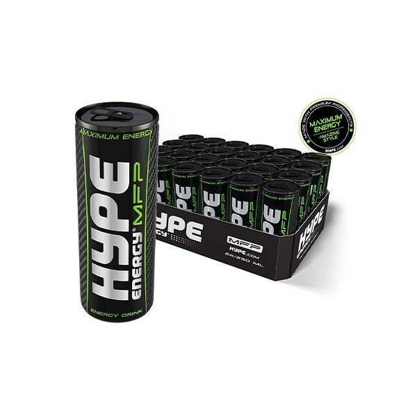تصویر نوشابه انرژی زا هایپ ۲۵۰ میلی لیتر بسته ۲۴ عددی Hype energy drink 250 ml pack of 24 pieces