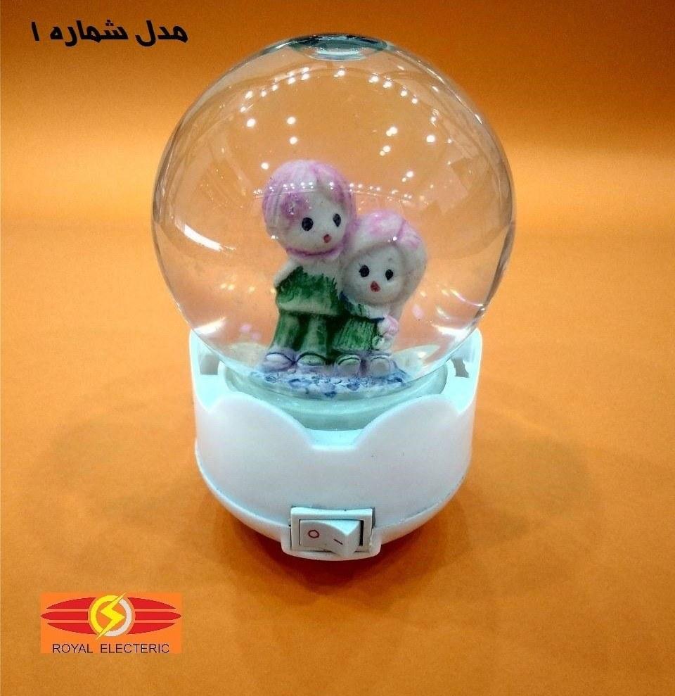 چراغ خواب کودک مدل گوی برفی |