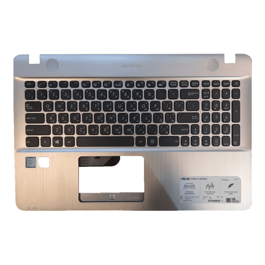 قاب C به همراه کیبرد لپ تاپ ASUS مدل X541