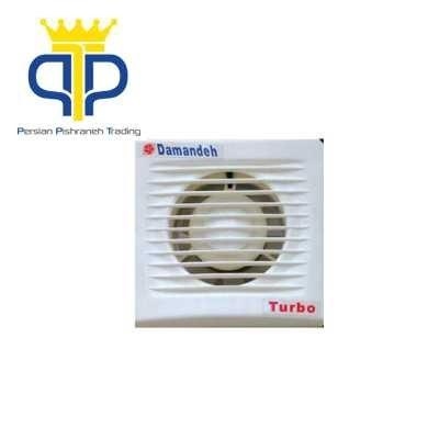 هواکش لوله ای دمنده سری Turbo مدل VPH-12S2S | Damandeh VPH-12S2S Turbo Series Pipe Mount Fan