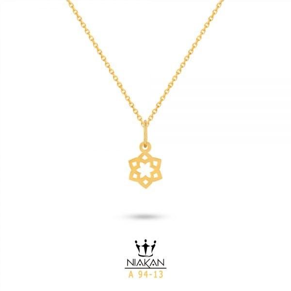 گردنبند طلا زنانه کد A94-13 |