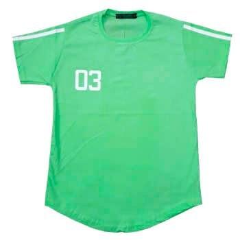 تیشرت پسرانه طرح 03 رنگ سبز روشن |