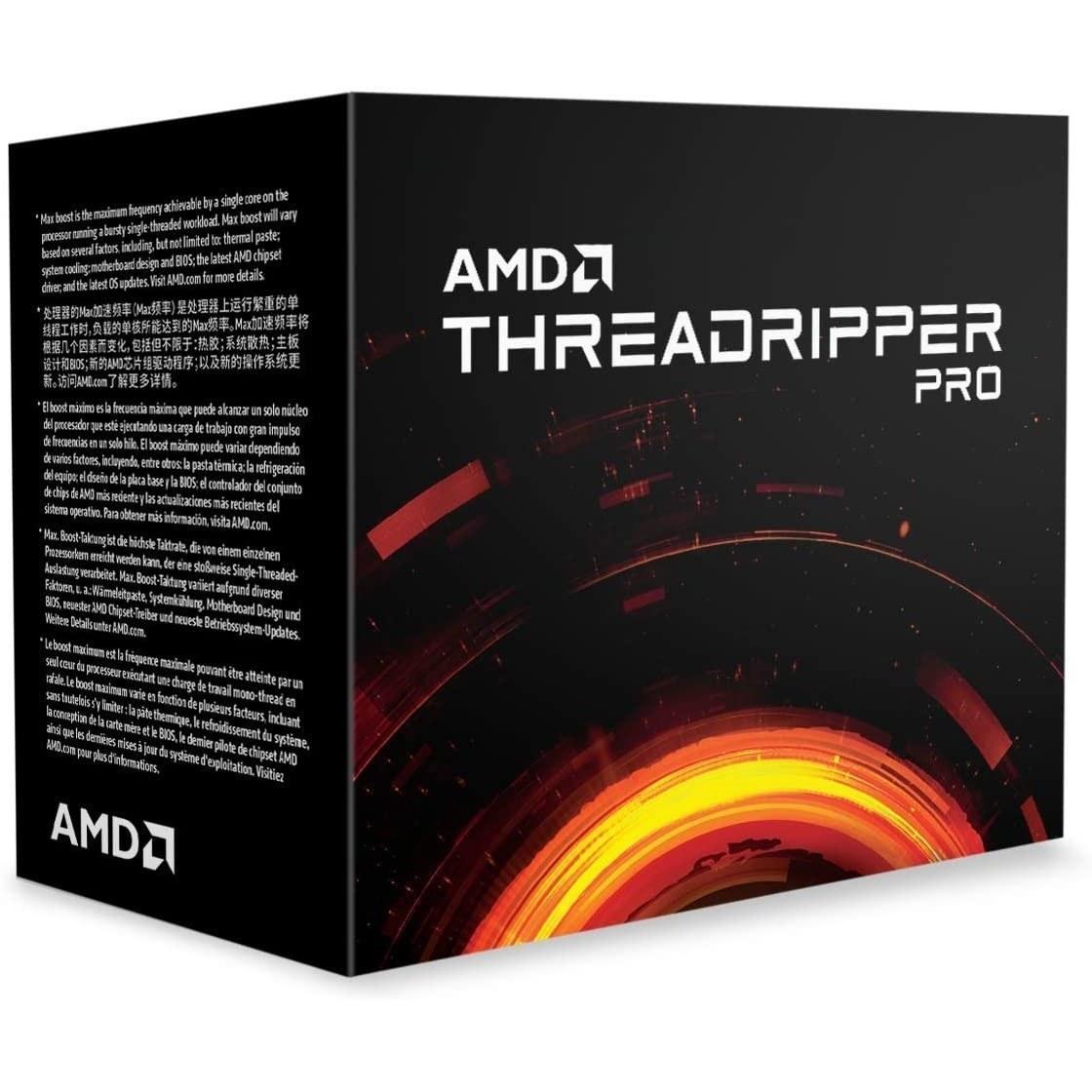 تصویر پردازنده مرکزی ای ام دی مدل AMD Ryzen Threadripper 3995WX باندل با مادربردهای ایسوس ا CPU AMD Ryzen Threadripper 3995WX CPU AMD Ryzen Threadripper 3995WX